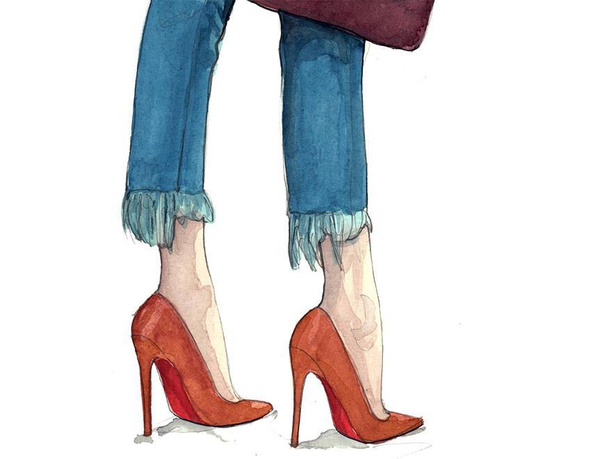 Luce los zapatos de tus sueños