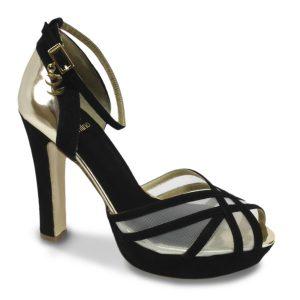 Golden Black - Zapatos de fiesta personalizados