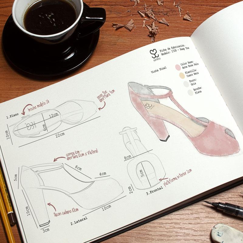 Diseño de zapatos a medida