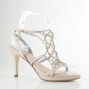 SANDALIA SWAROVSKI MOD.1011 (10cm) - zapatos personalizados fiesta