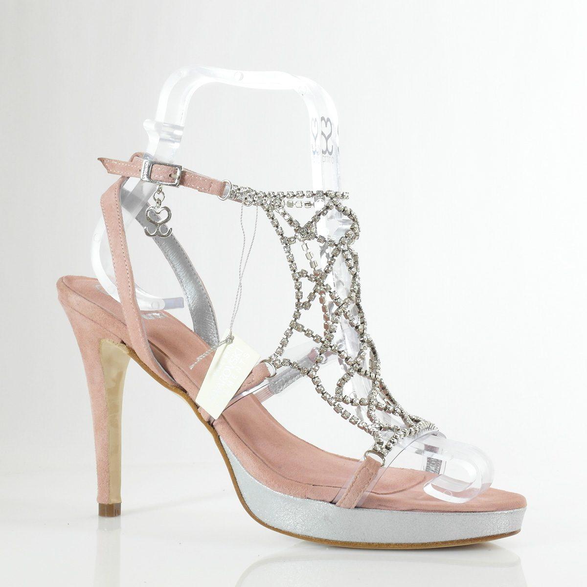 SANDALIA SWAROVSKI MOD.1011 (11cm) - zapatos personalizados fiesta