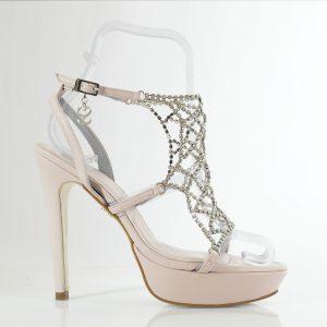 SANDALIA SWAROVSKI MOD.1011 (13cm) - zapatos personalizados fiesta